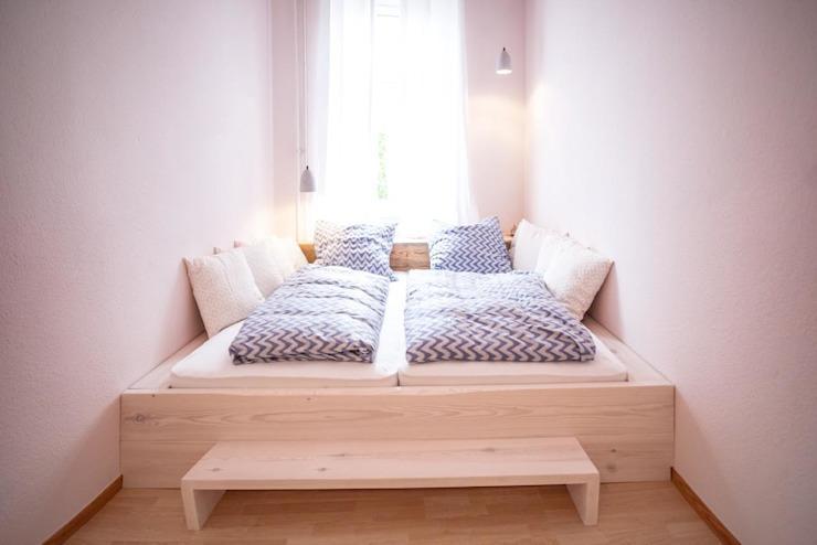 Ideen Schlafzimmer Weiß Holz