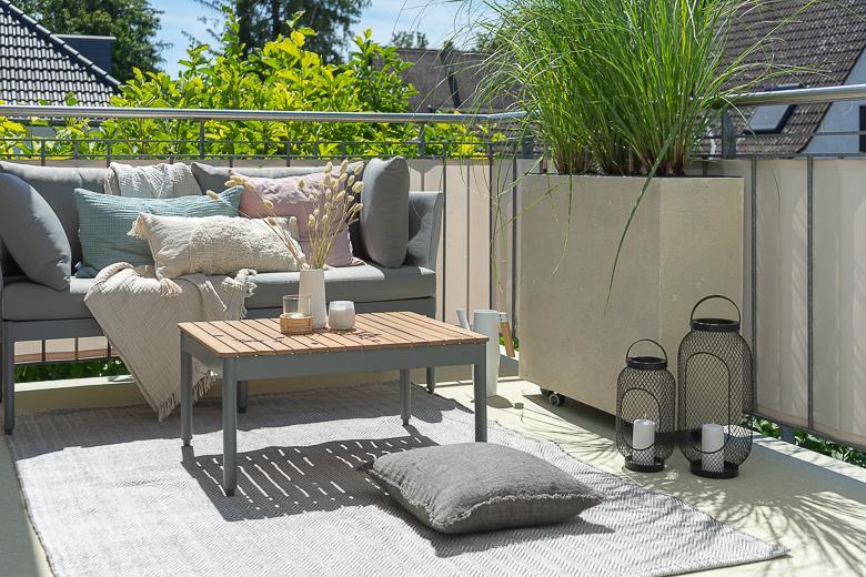 Ideen Sichtschutz Balkon Pflanzen