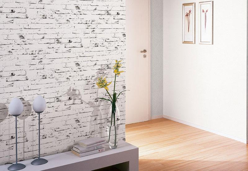 Ideen Tapeten Wohnzimmer Landhaus