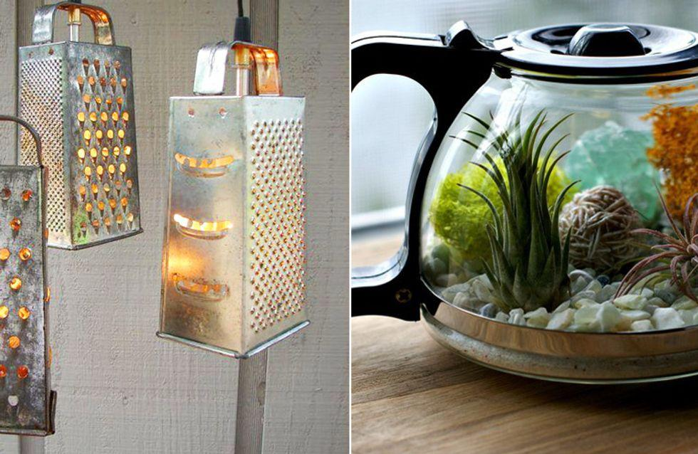 Ideen Upcycling Lampe