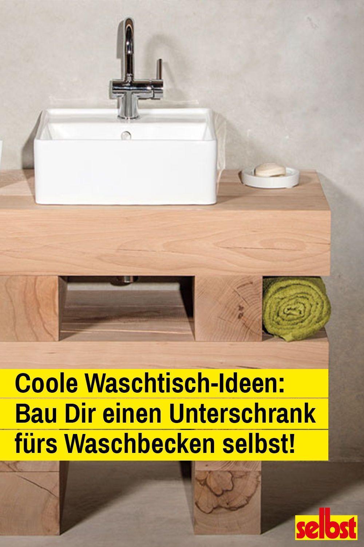 Ideen Waschtisch Selber Bauen