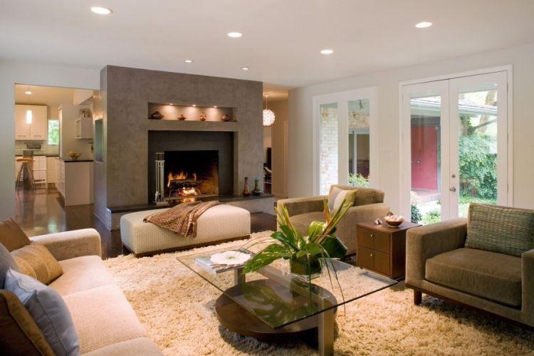 Ideen Wohnzimmer Beleuchtung Modern