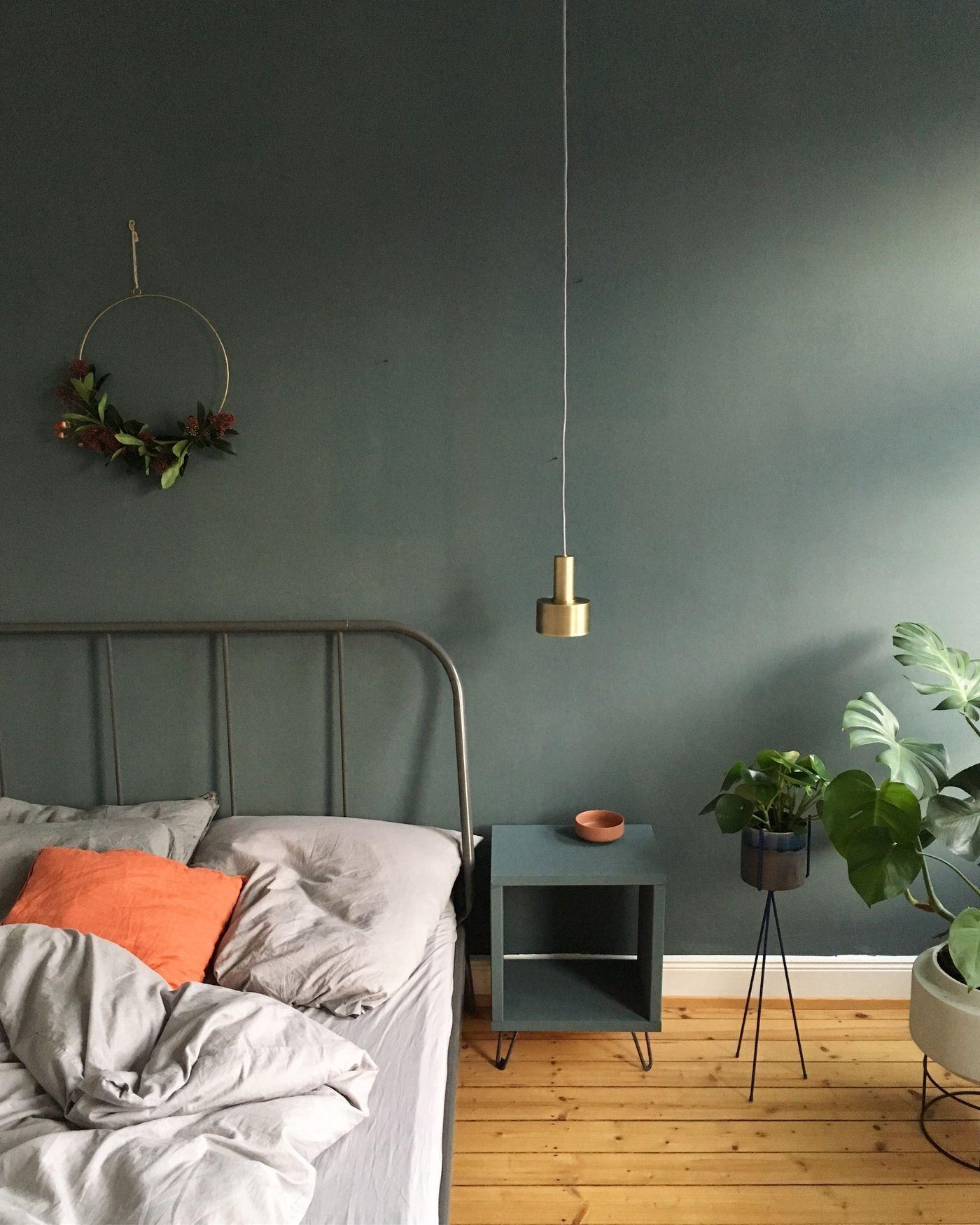 Ideen Wohnzimmer Grau Grün