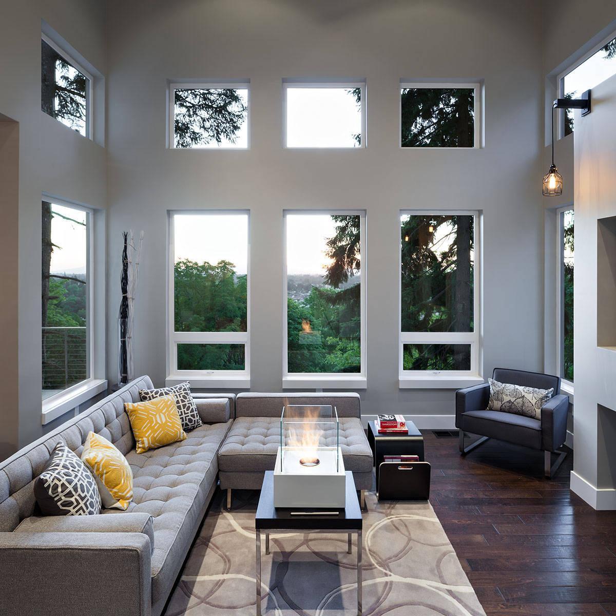 Ideen Wohnzimmer Grau