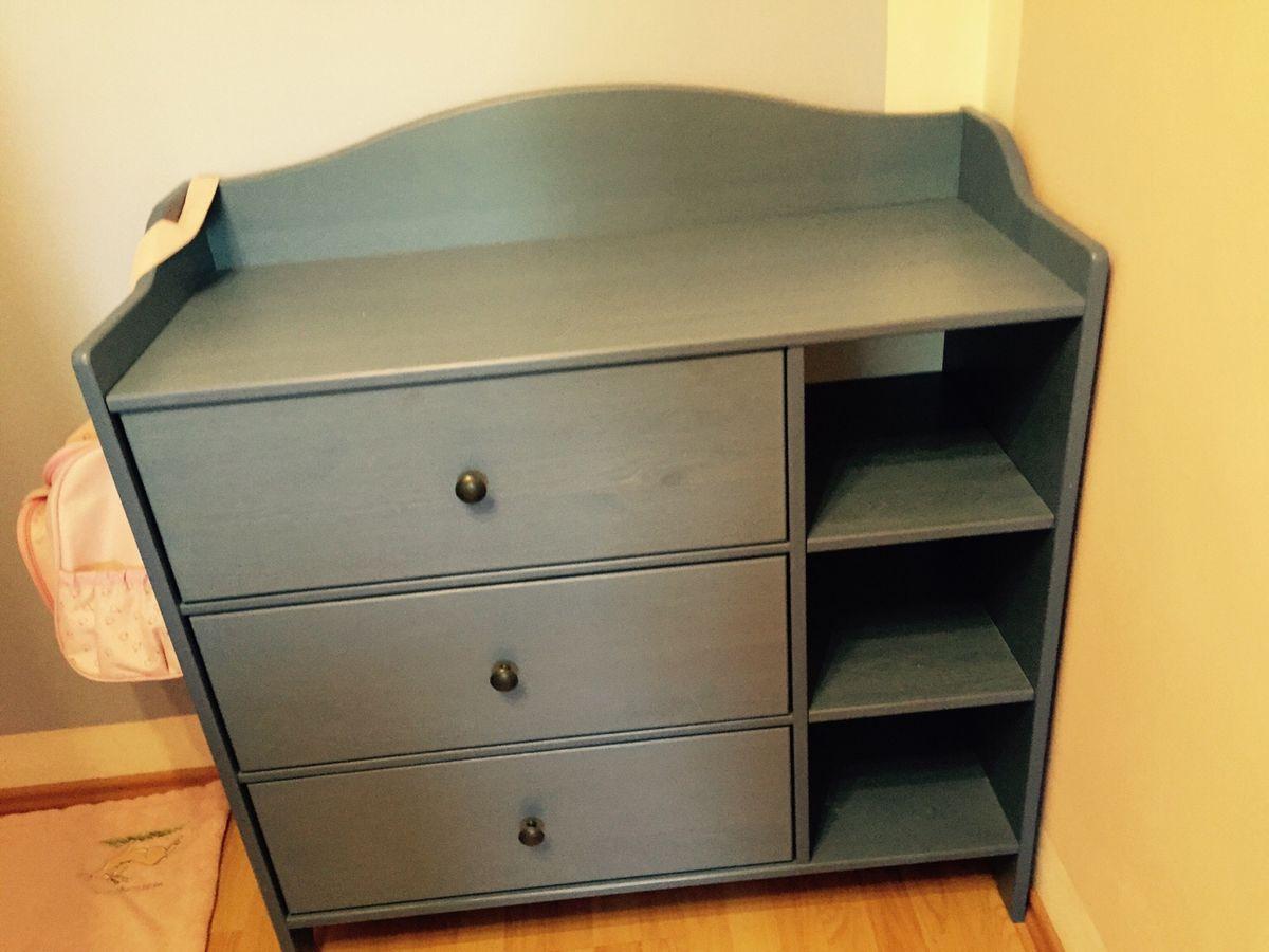 Ikea Alex Schreibtisch Blau