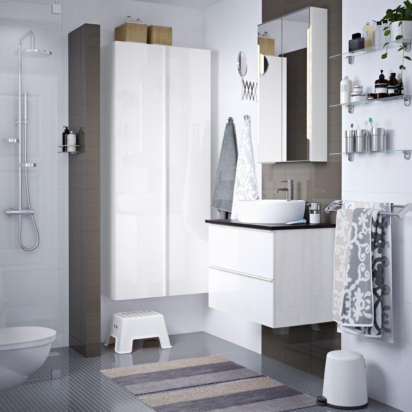 Ikea Badezimmermöbel Waschbeckenschrank