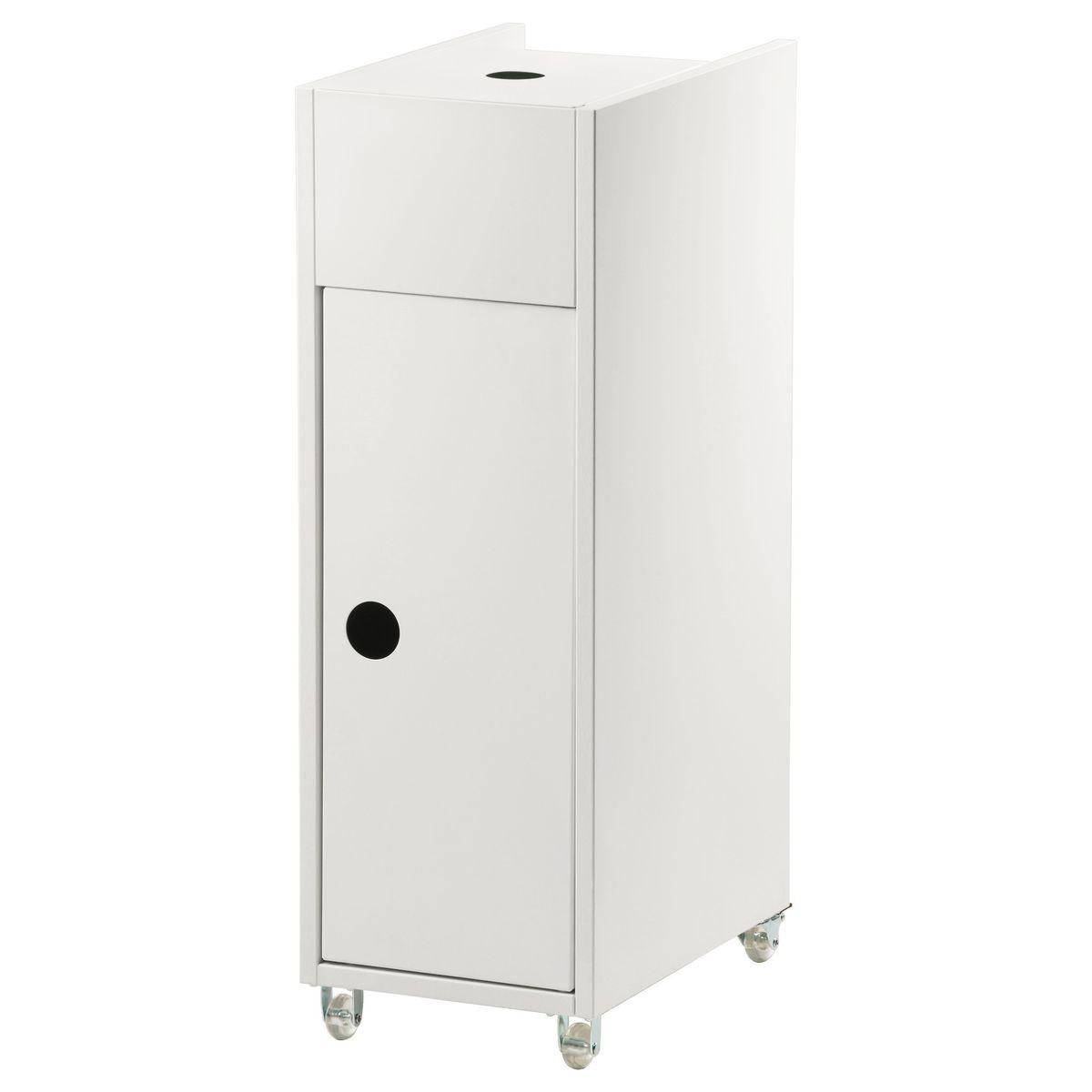 Ikea Badregal Weiß