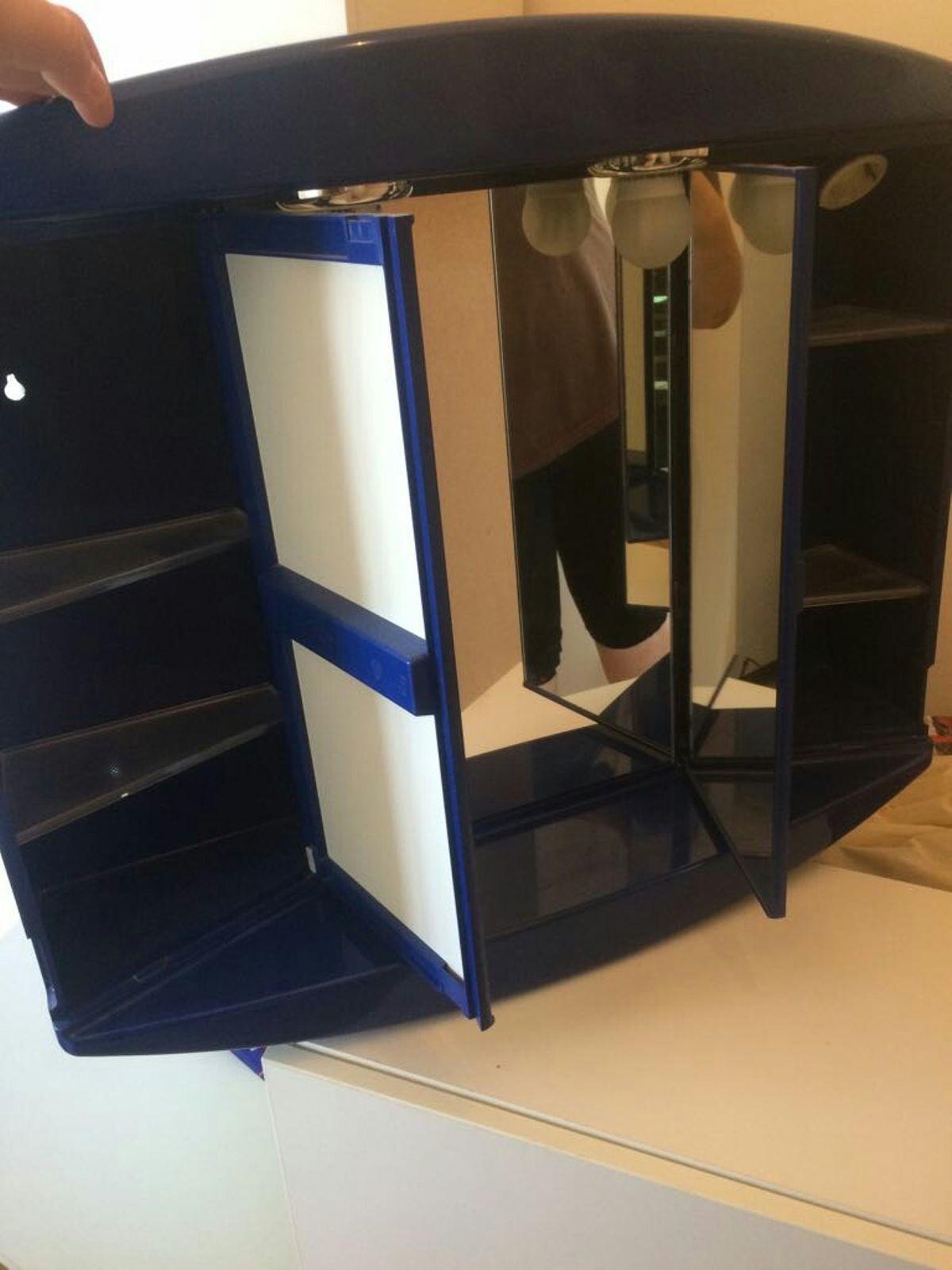 Ikea Badschrank Blau