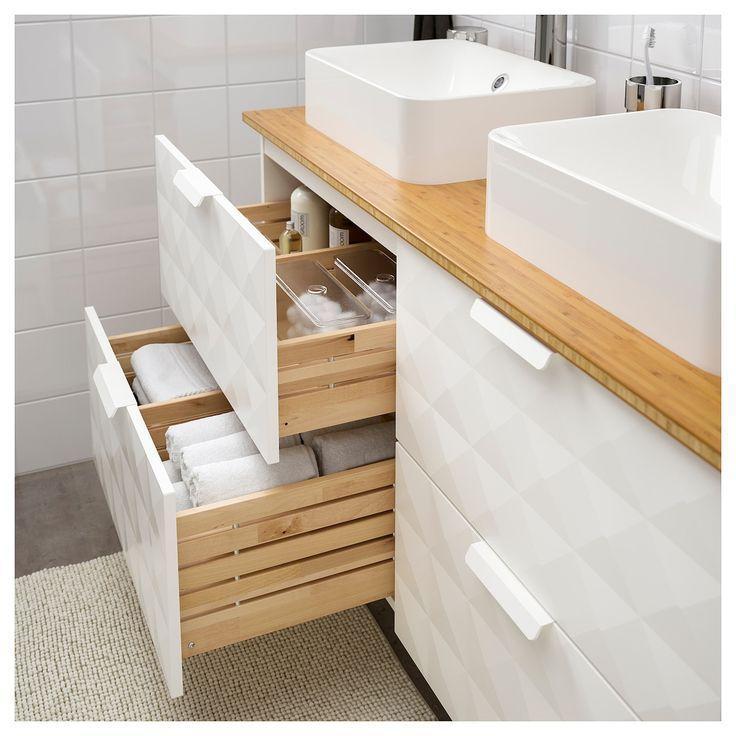 Ikea Bambus Badezimmer