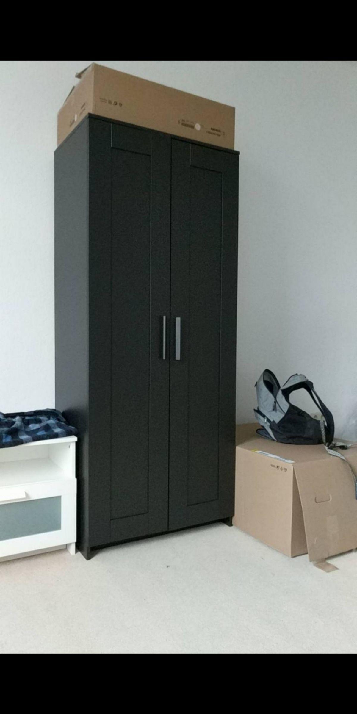 Ikea Brimnes Kleiderschrank 2 Türig