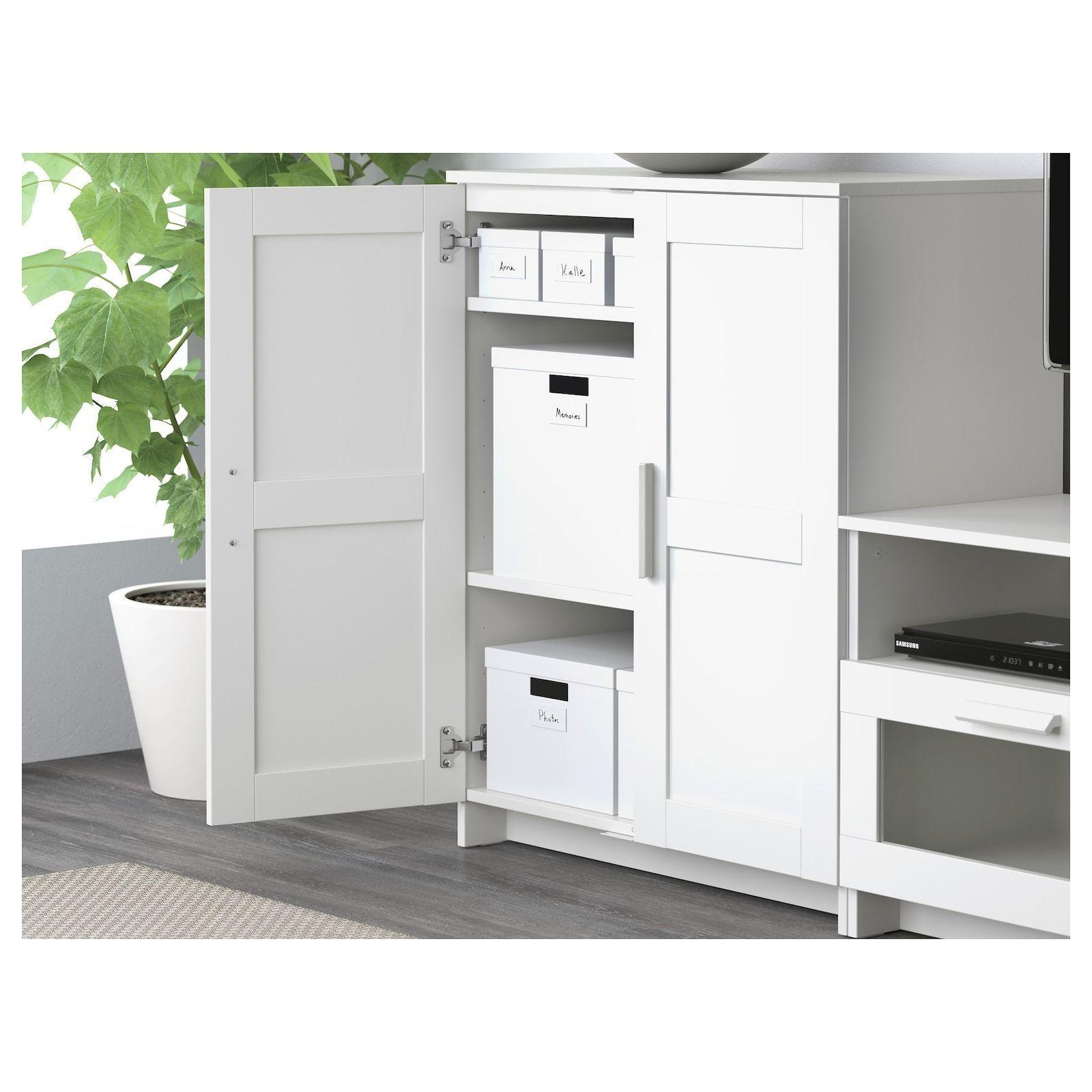 Ikea Brimnes Schrank Mit Türen