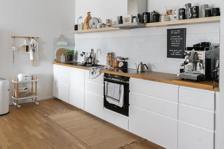 Ikea Einbauküche Schwarz