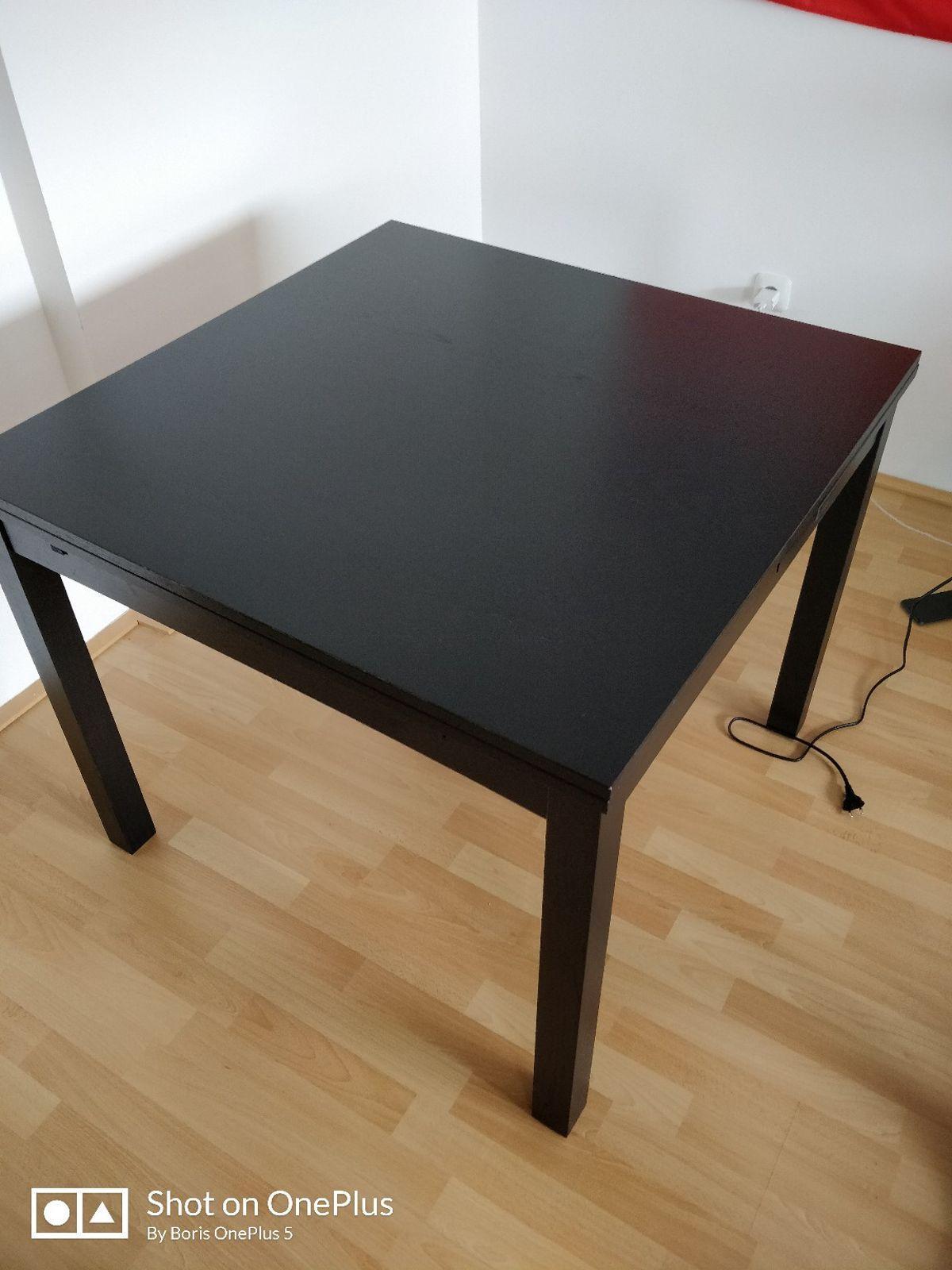 Ikea Esstisch Ausziehbar Schwarz