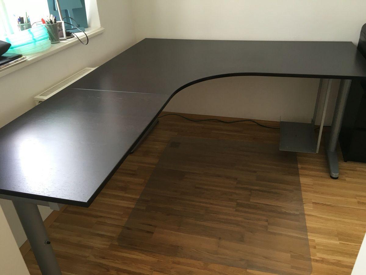 Ikea Galant Schreibtisch Höhenverstellbar