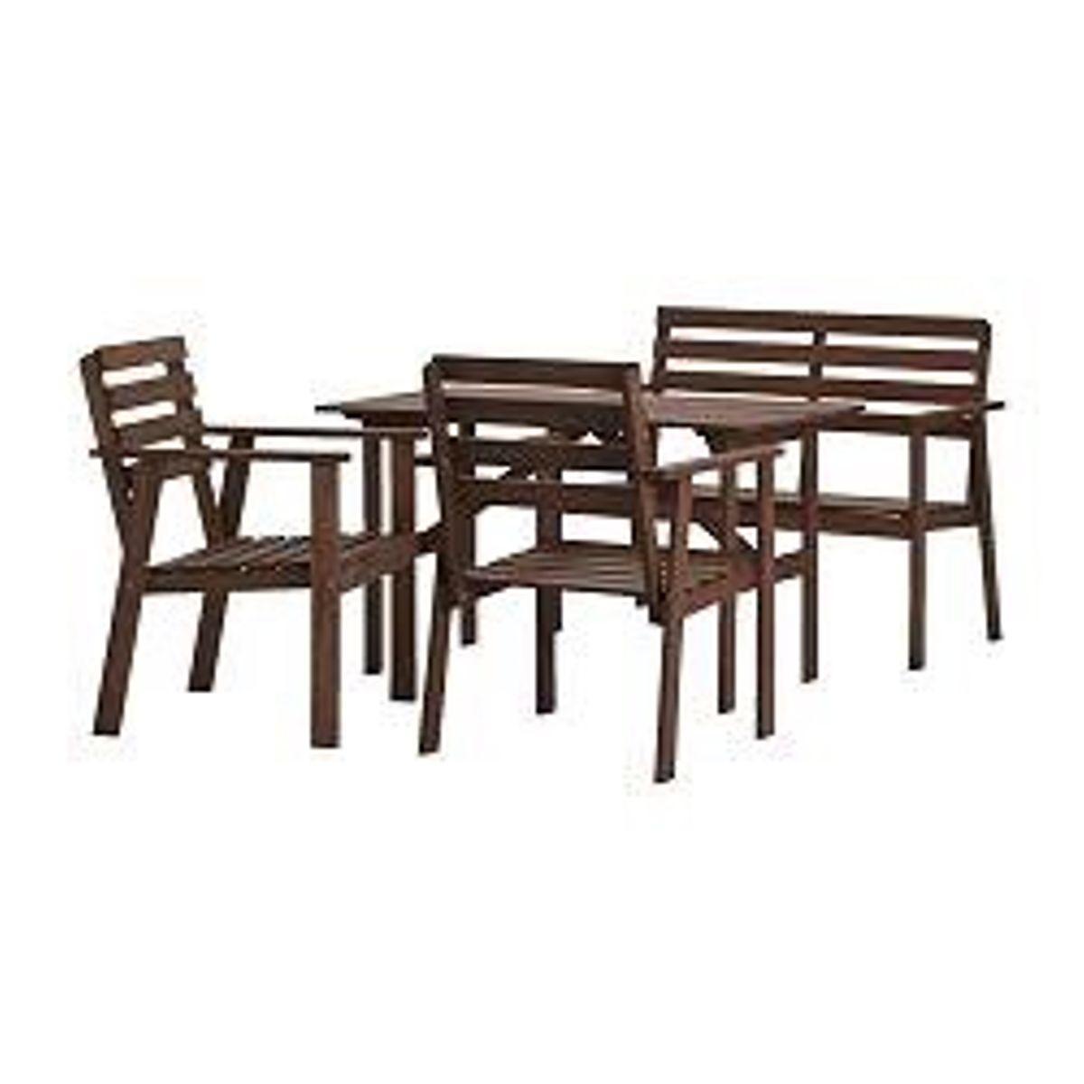 Ikea Gartenmöbel Set Holz