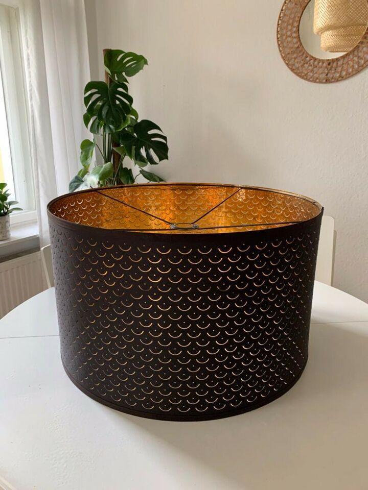 Ikea Hängelampe Schwarz Gold