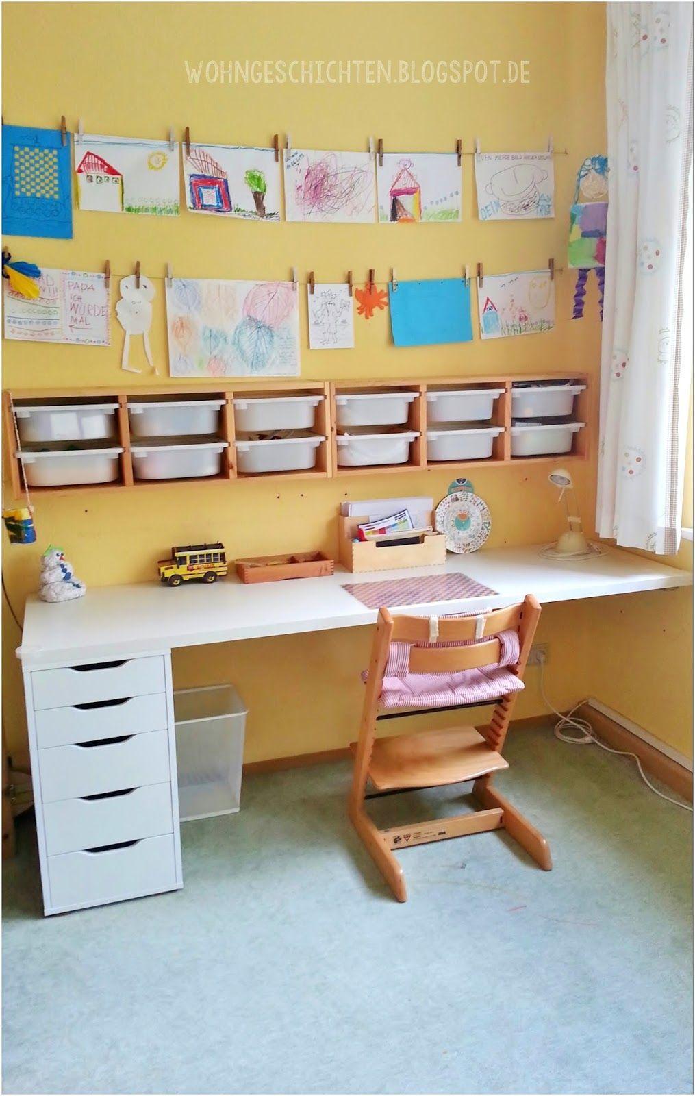 Ikea Hacks Kinderzimmer Schreibtisch