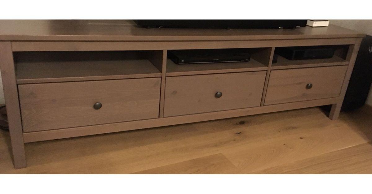 Ikea Hemnes Kommode Grau Braun