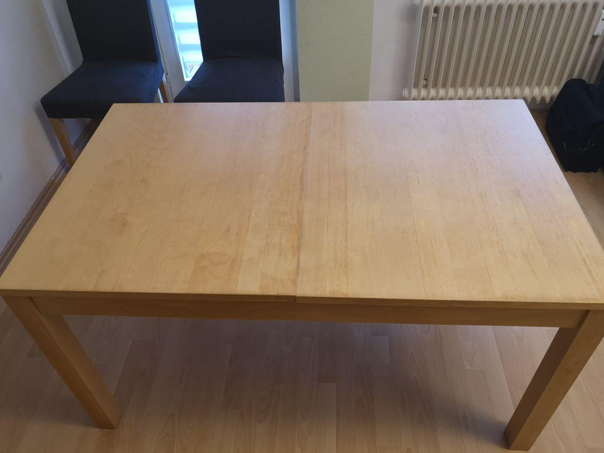 Ikea Holztisch Wohnzimmer