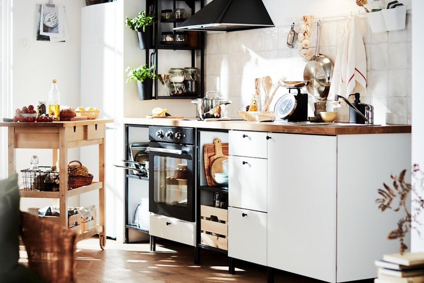 Ikea Küche Landhaus Elfenbein