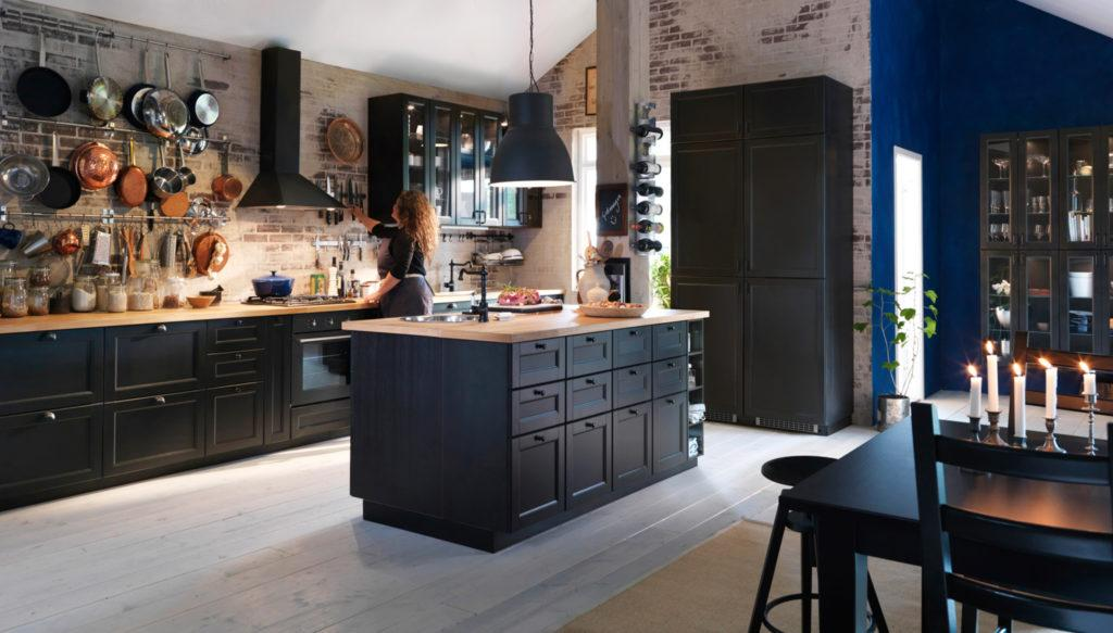 Ikea Küche Metod Schwarz
