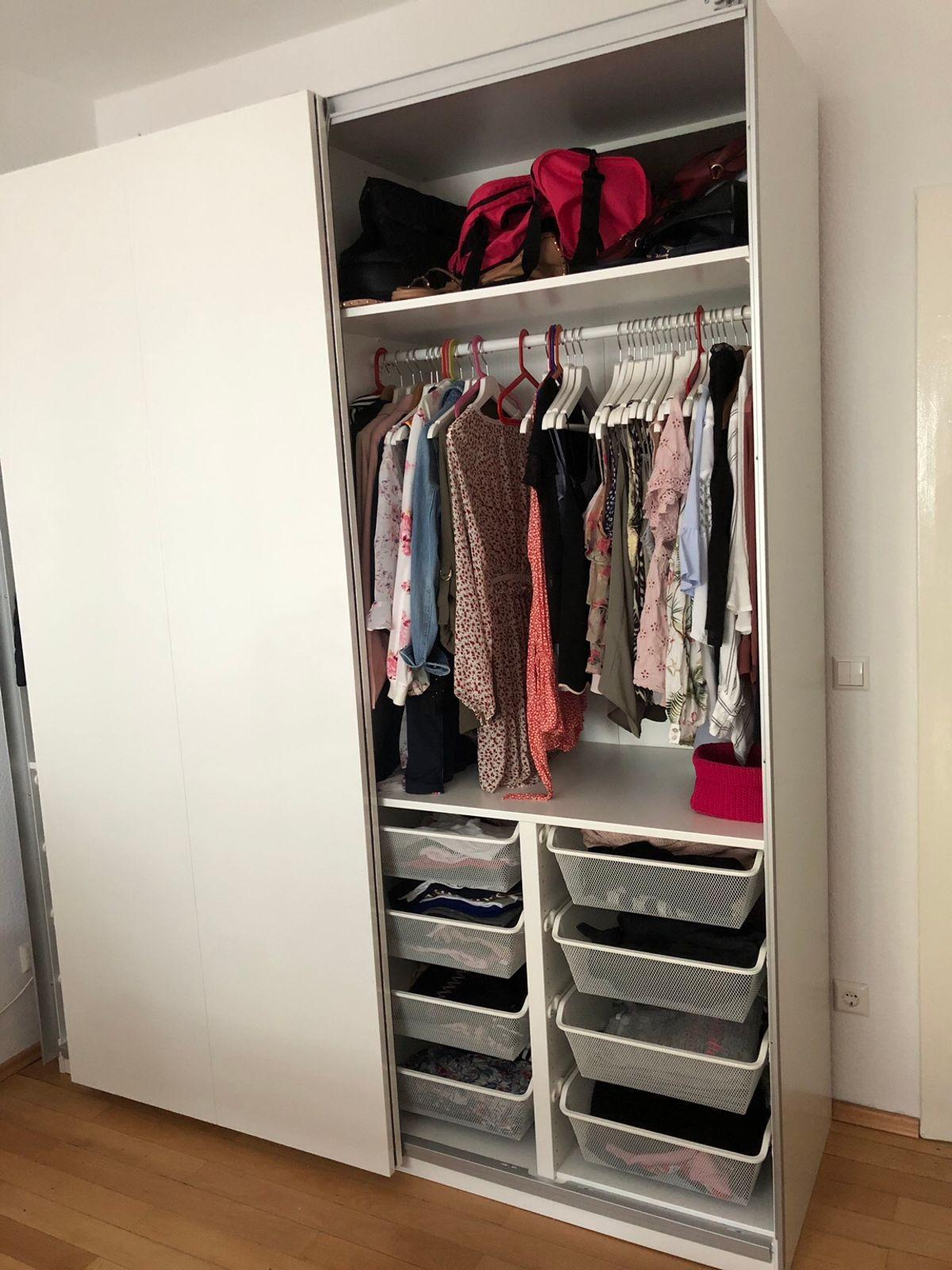 Ikea Kleiderschrank Hochglanz