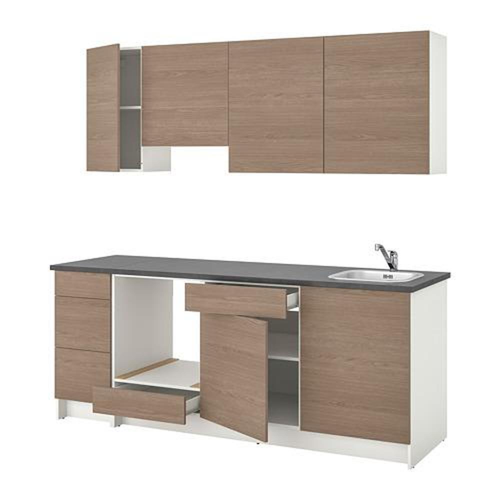 Ikea Knoxhult Küche Grau