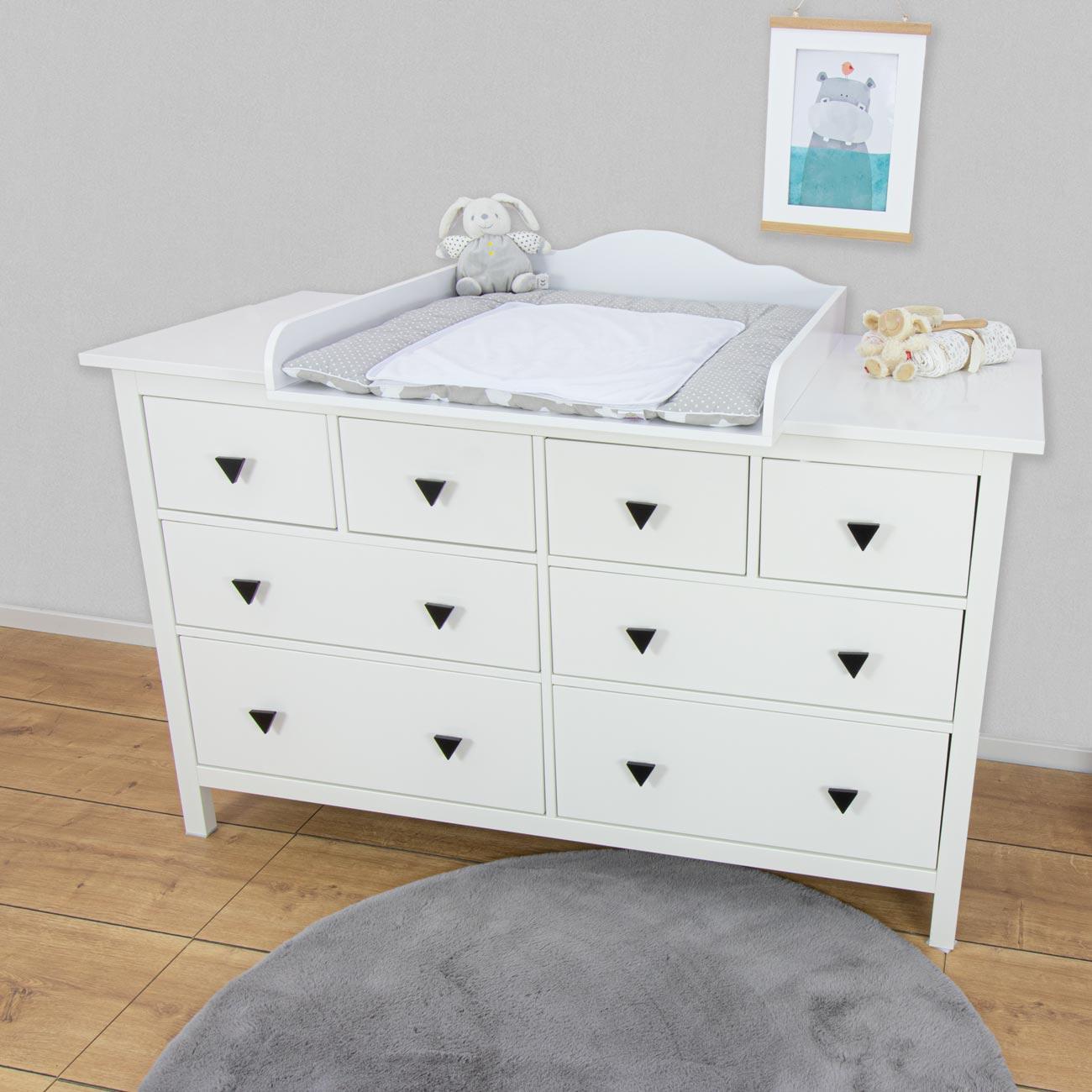 Ikea Kommode Grau Weiß
