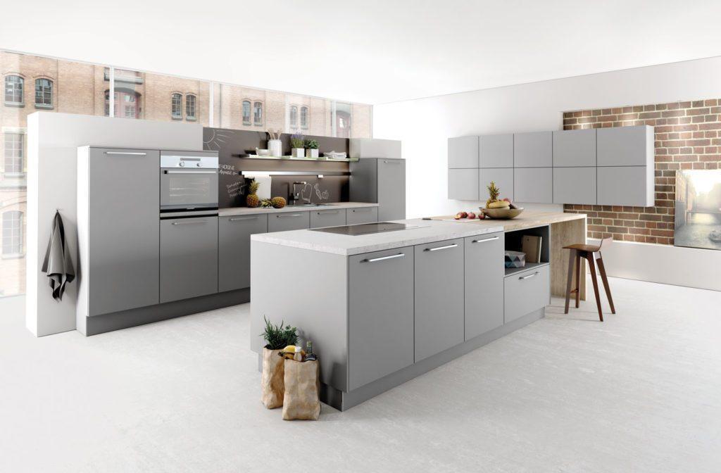 Ikea Küche Grau Matt