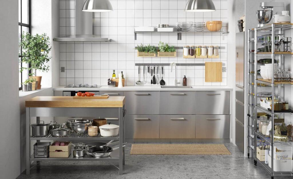 Ikea Küche Grau Weiß