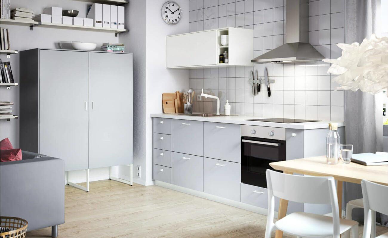 Ikea Küche Schwarz Braun