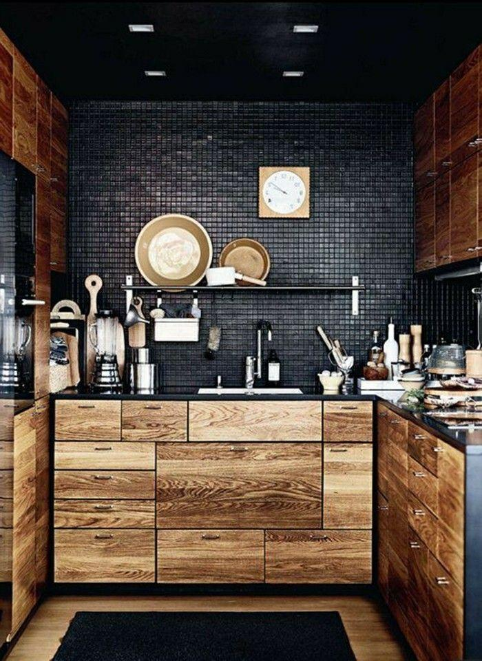 Ikea Küche Schwarz Holz