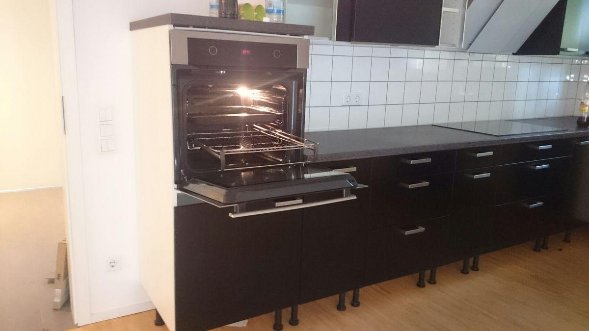 Ikea Küche Schwarz Matt