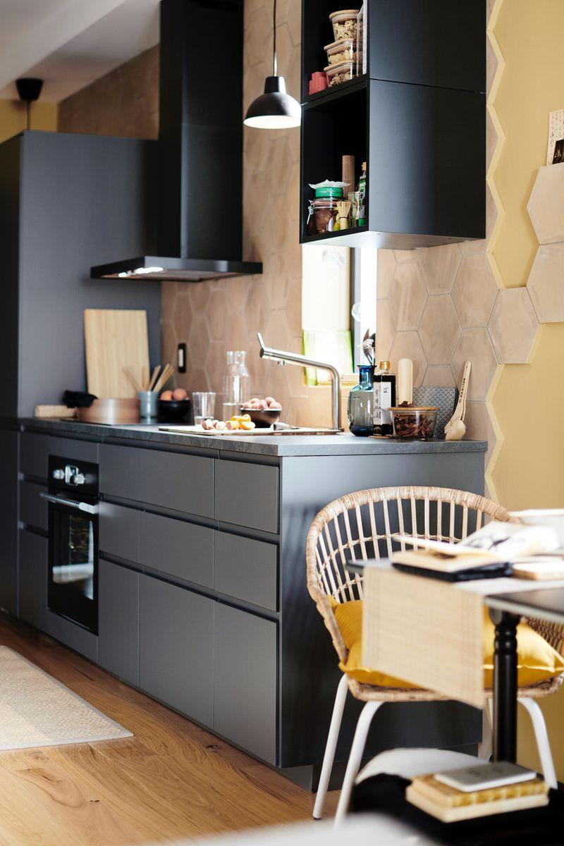 Ikea Küche Schwarz Metod