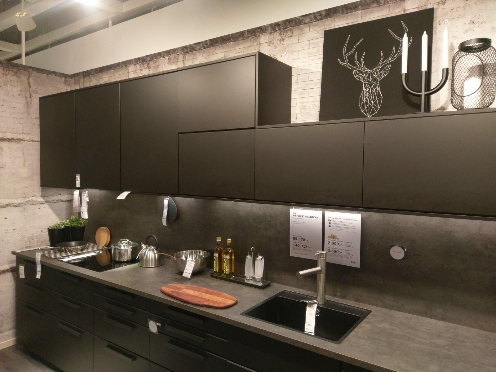 Ikea Küchenfronten Grau