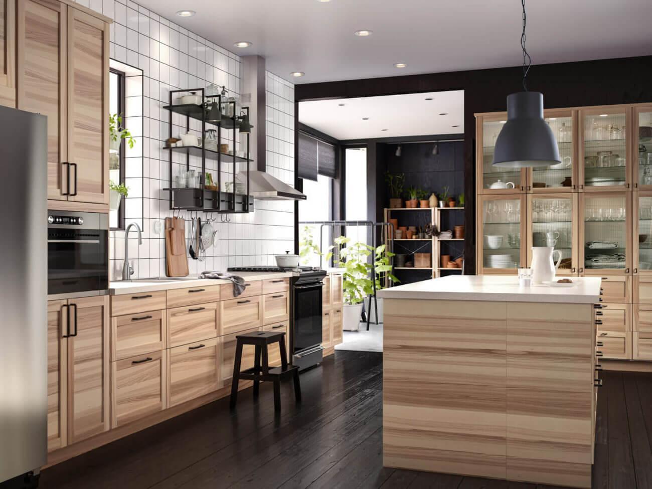 Ikea Küchenfronten Holz