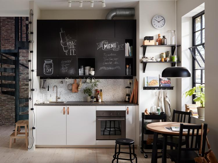 Ikea Küchengriffe Schwarz