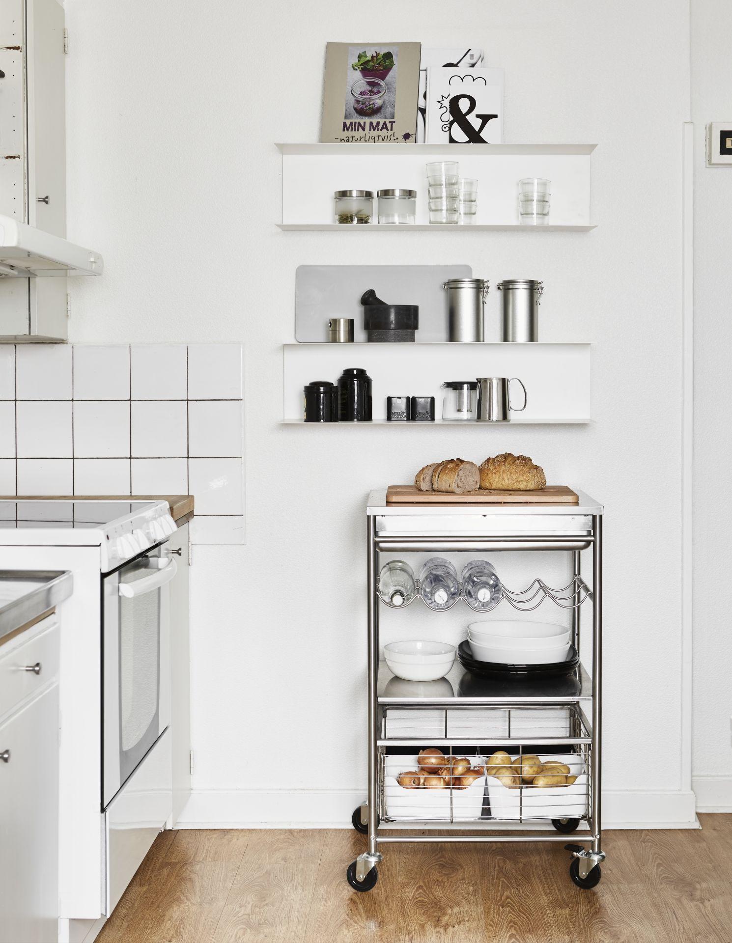 Ikea Küchenwagen Edelstahl