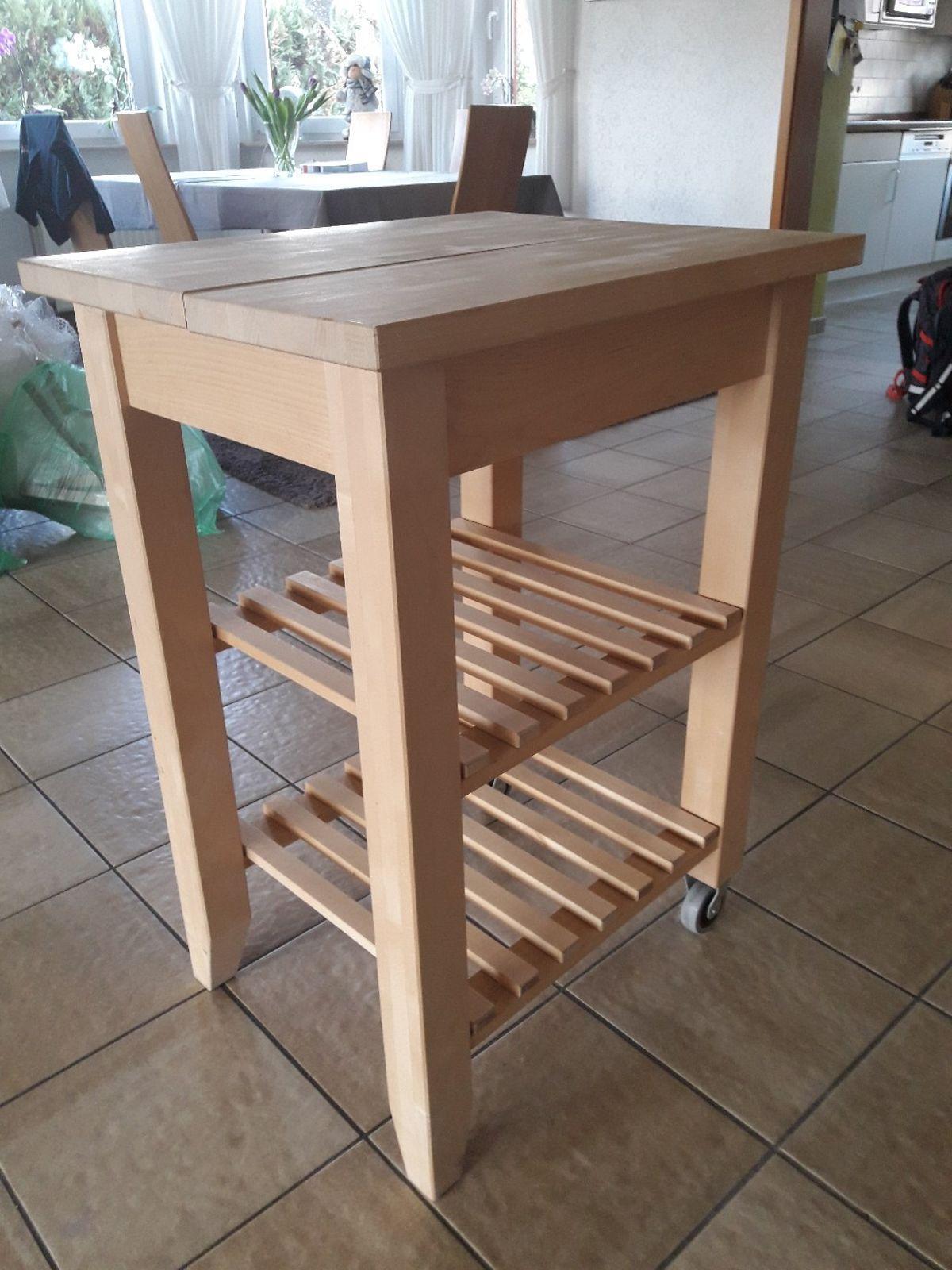 Ikea Küchenwagen Weiß