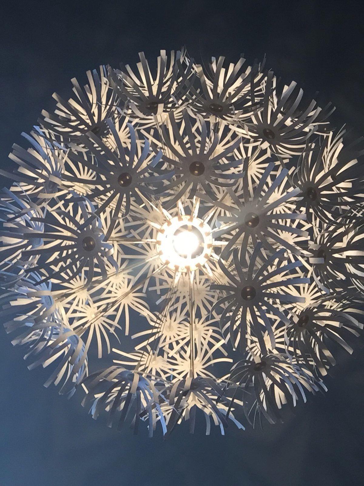Ikea Lampe Papier Blume