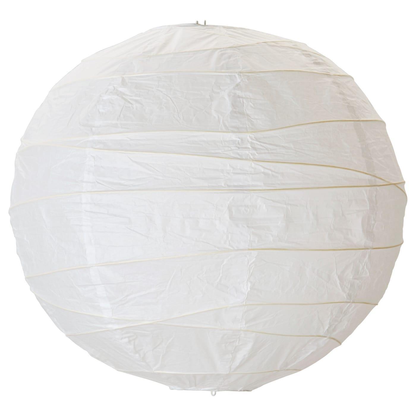 Ikea Lampe Papier Froissé