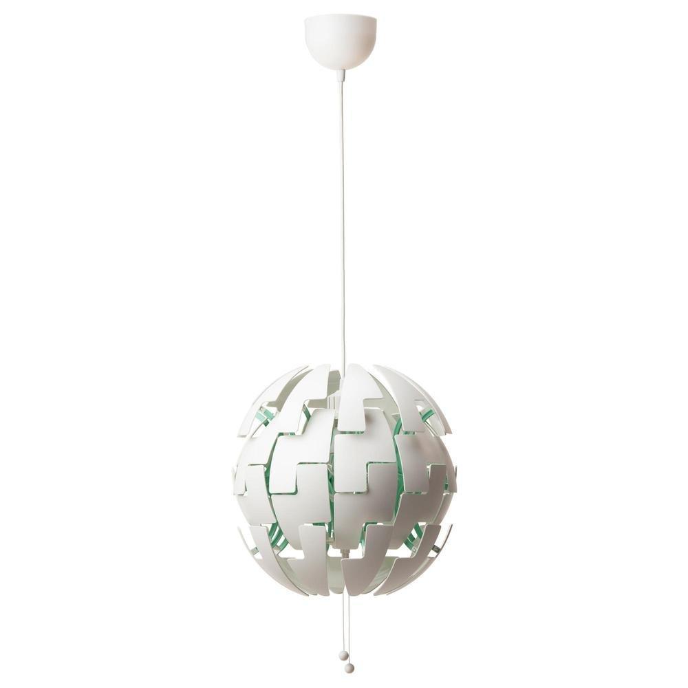 Ikea Lampe Weiß Kupfer