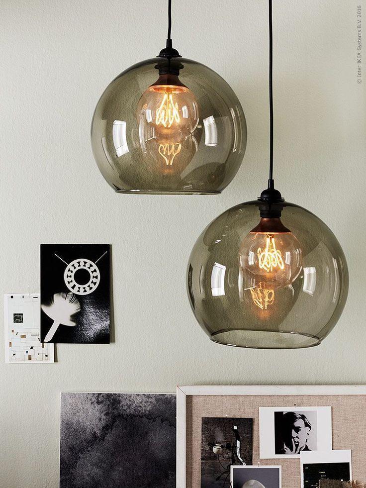 Ikea Leuchte Glaskugel