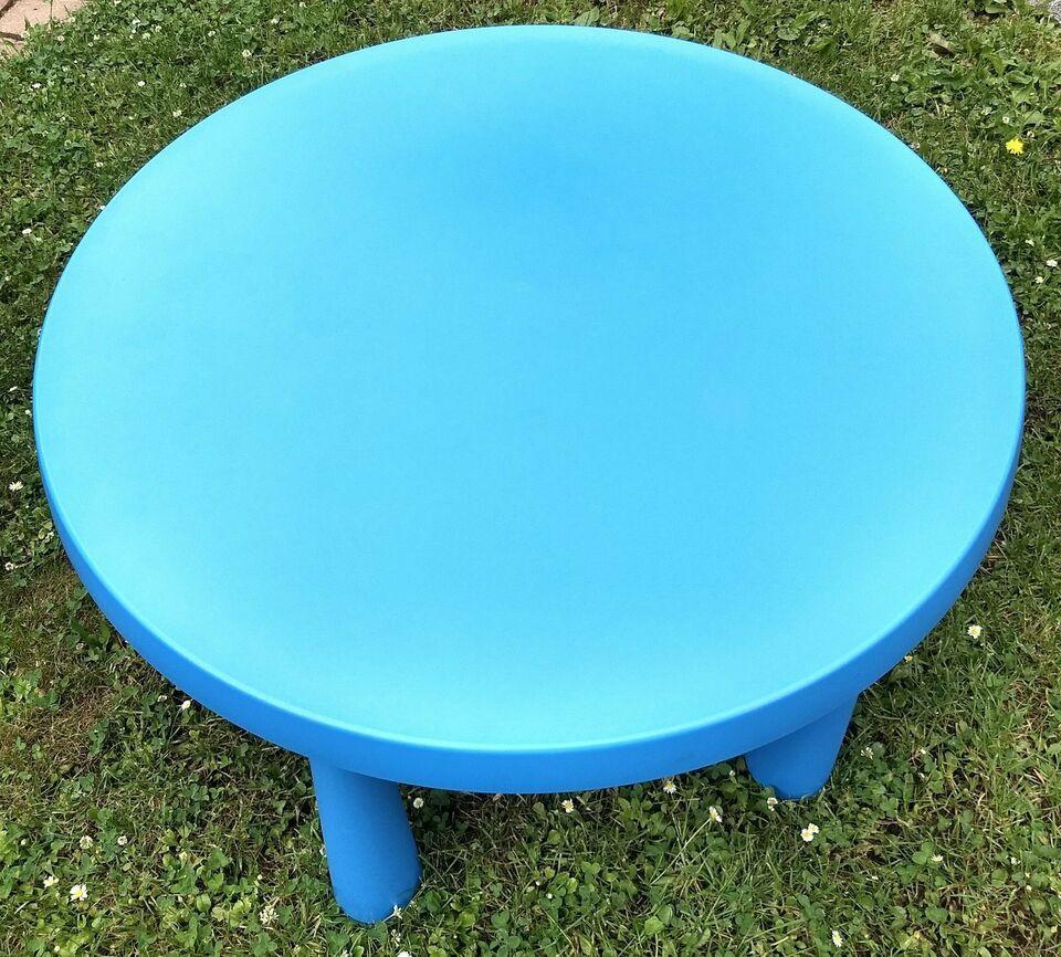 Ikea Mammut Tisch Blau