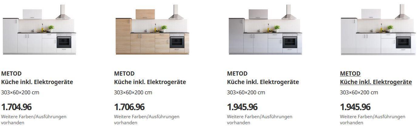 Ikea Miniküche Mit Elektrogeräten
