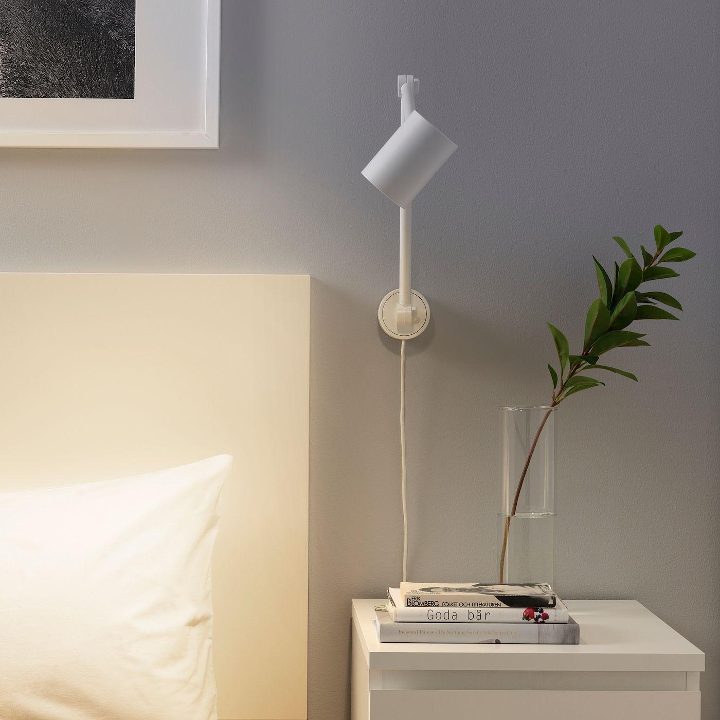 Ikea Nymane Wandleuchte