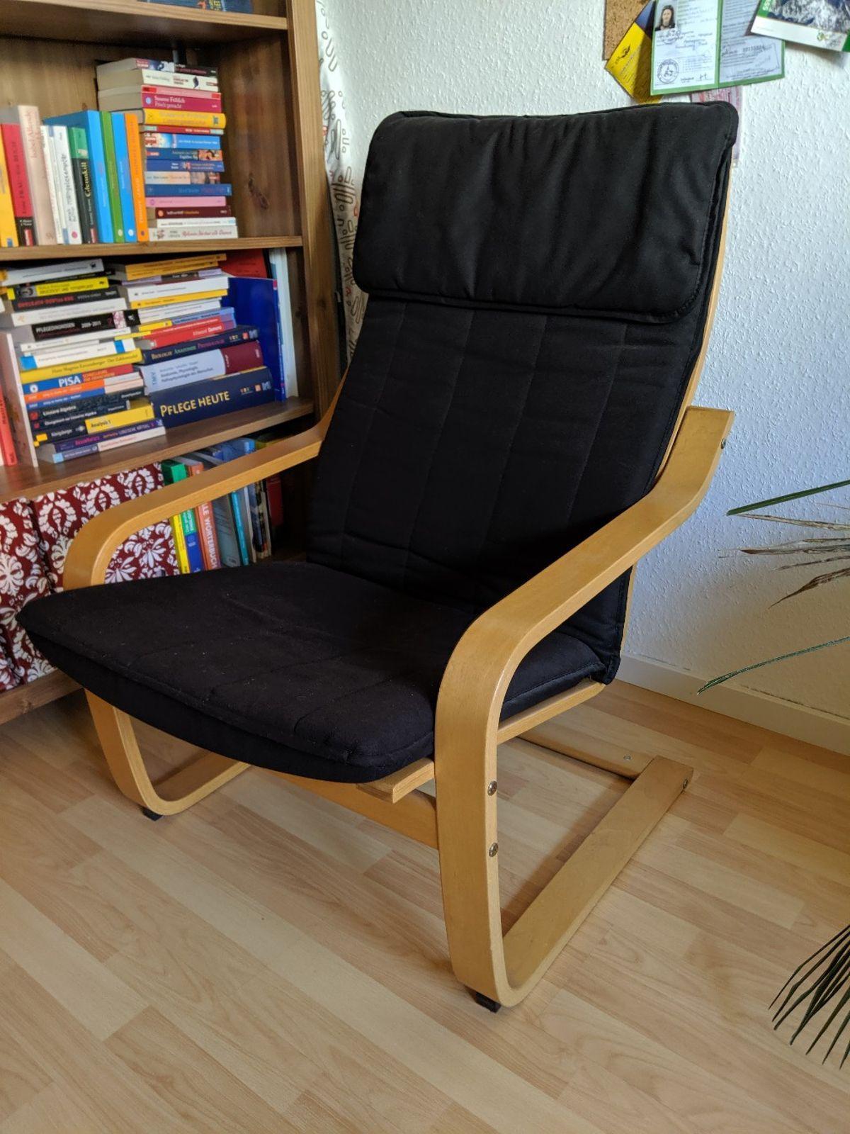 Ikea Poäng Sessel Leder