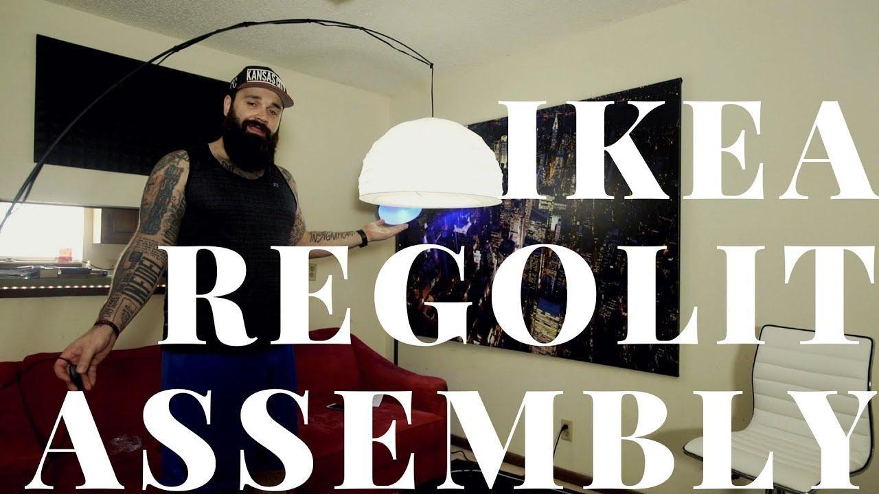 Ikea Regolit Lamp Shade