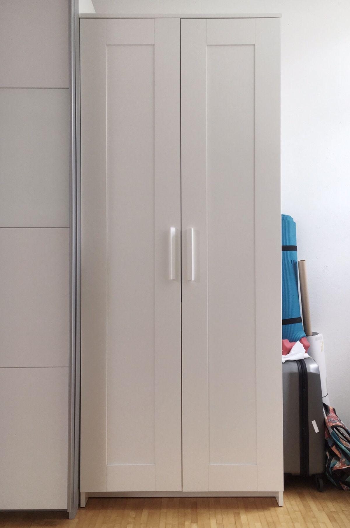 Ikea Schrank Weiß Brimnes