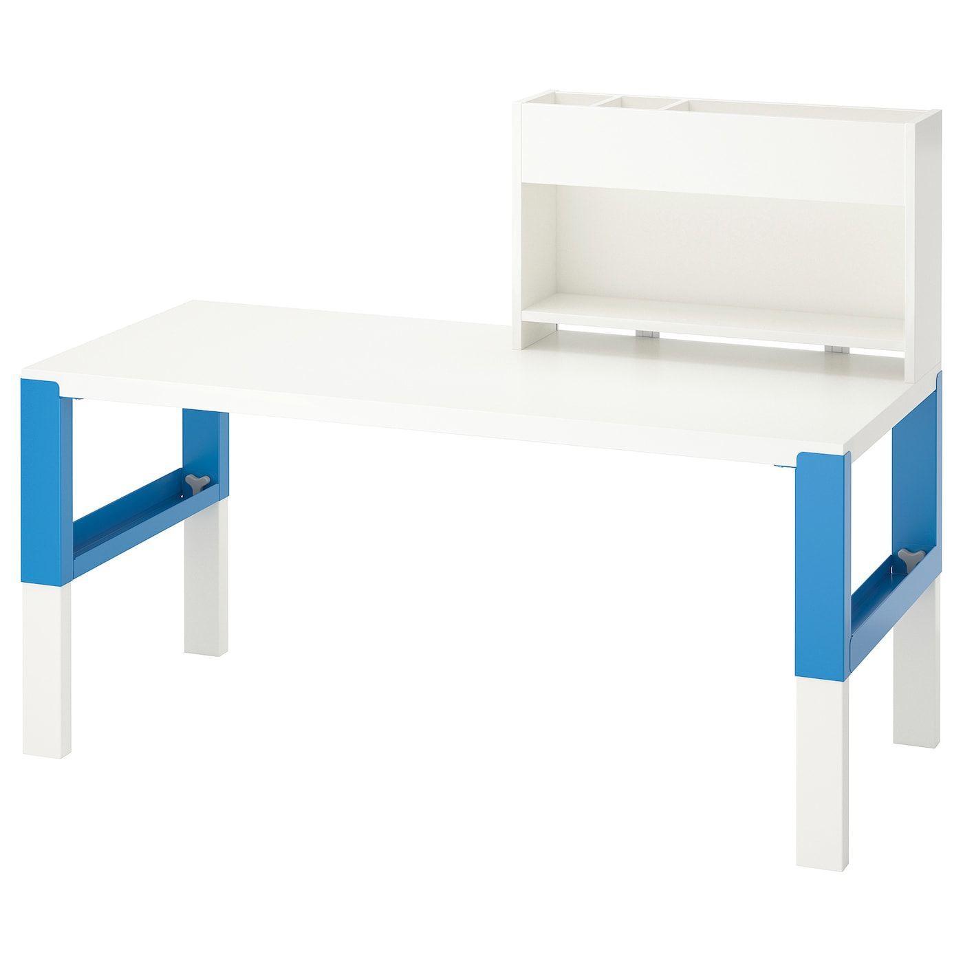 Ikea Schreibtisch Micke Blau